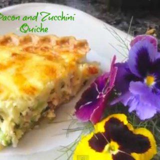 Bacon Zucchini Quiche