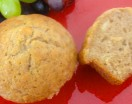 Banana Muffin with Wheat Germ