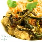 Chicken Chile Verde con Rajas