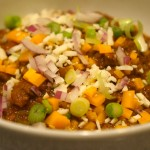 3-bean chili con carne