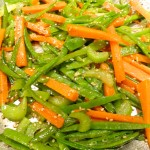 Asian-Style Carrot, Snow Pea Stir Fry