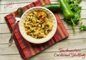 Lindy's Southwestern Cornbread Stuffing