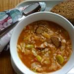 Smokey Kielbasa Cabbage Soup
