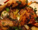 Lindy's Simple Roasted Chicken with Quick Roasted Root Vegetables