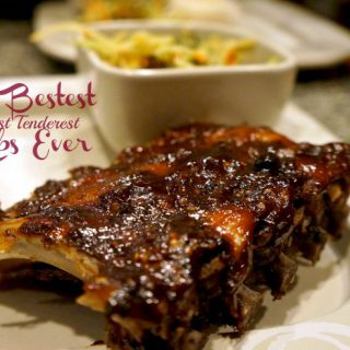 The Bestest Most Tenderest Ribs Ever