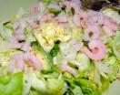shrimp salad with herb dressing