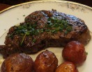 LindySez Steak Au Poivre