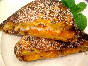Stuffed Panettone French Toast