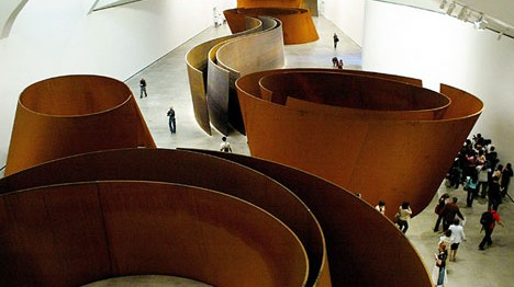 Richard Serra's a Matter of Time