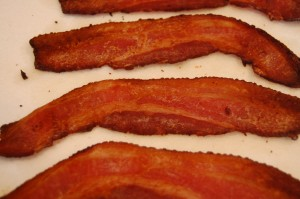 baked bacon