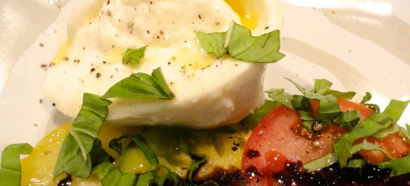 Burrata Caprese Salad - LindySez | Recipes, Tips, Blog