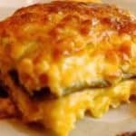 chili relleno casserole cut slice
