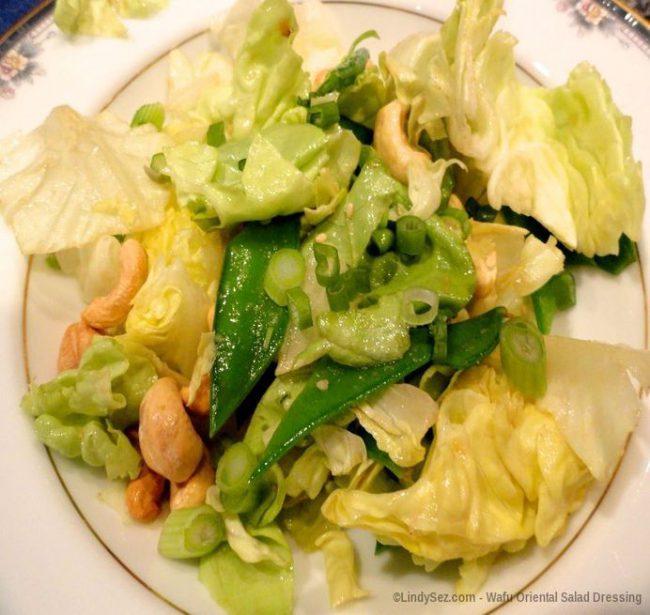 Wafu Oriental Salad Dressing