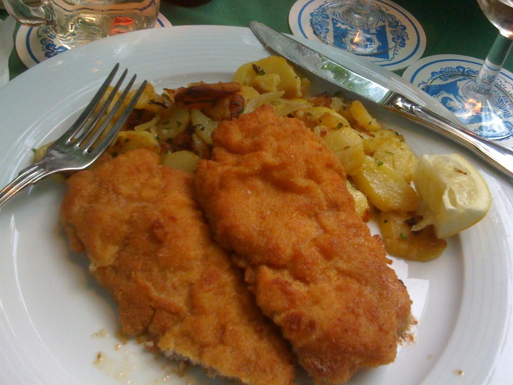 augustiner keller wiener Schnitzel