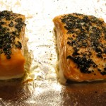 low slow roasted salmon