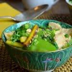 spicy mint chicken stir fry