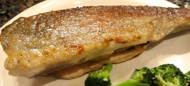Baked Aromatic Trout
