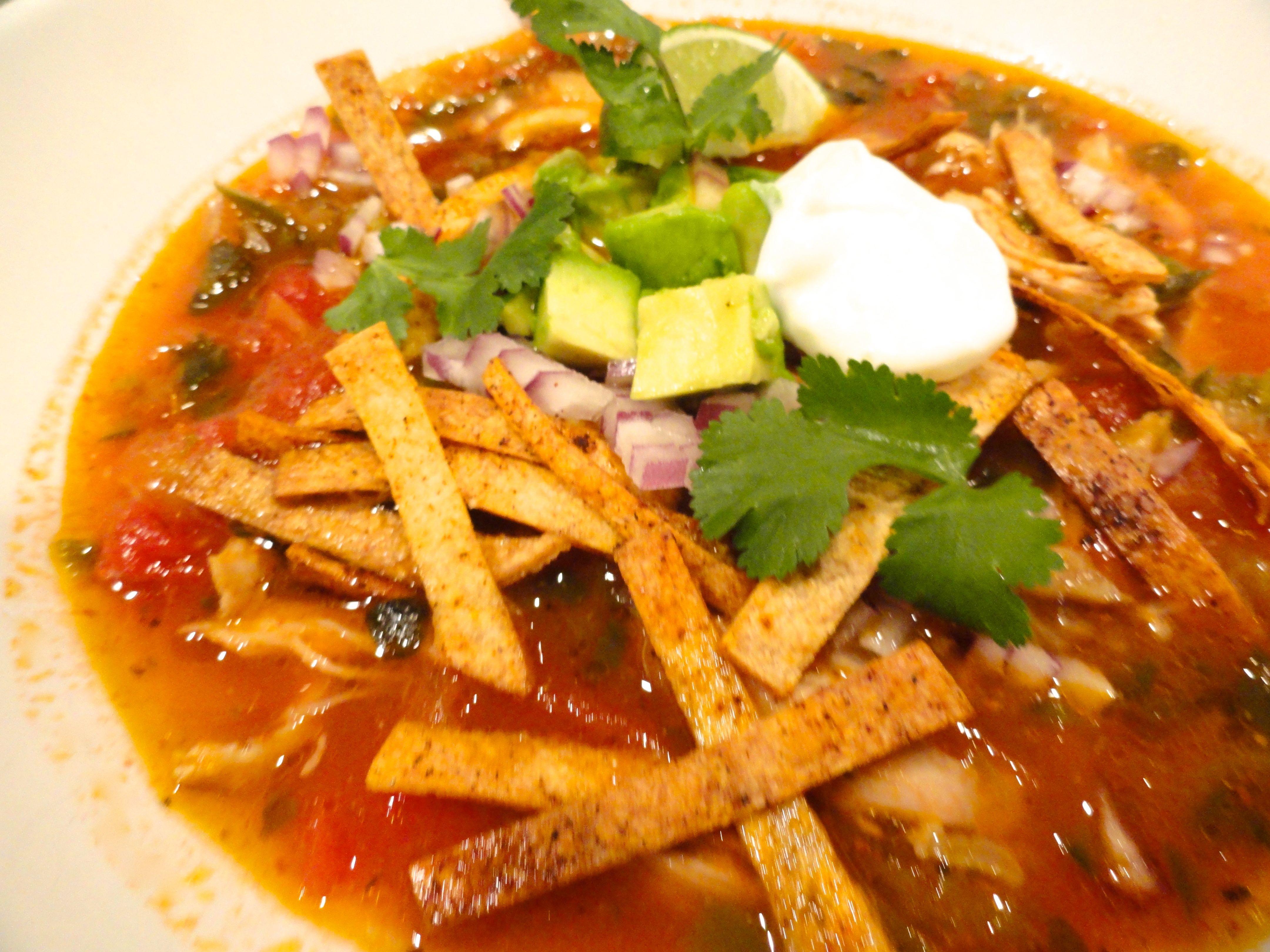 Chicken Tortilla Soup - LindySez | Recipes, Tips, Blog