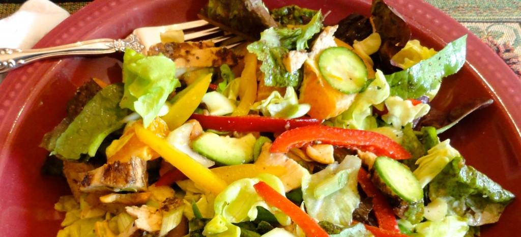a healthy salad