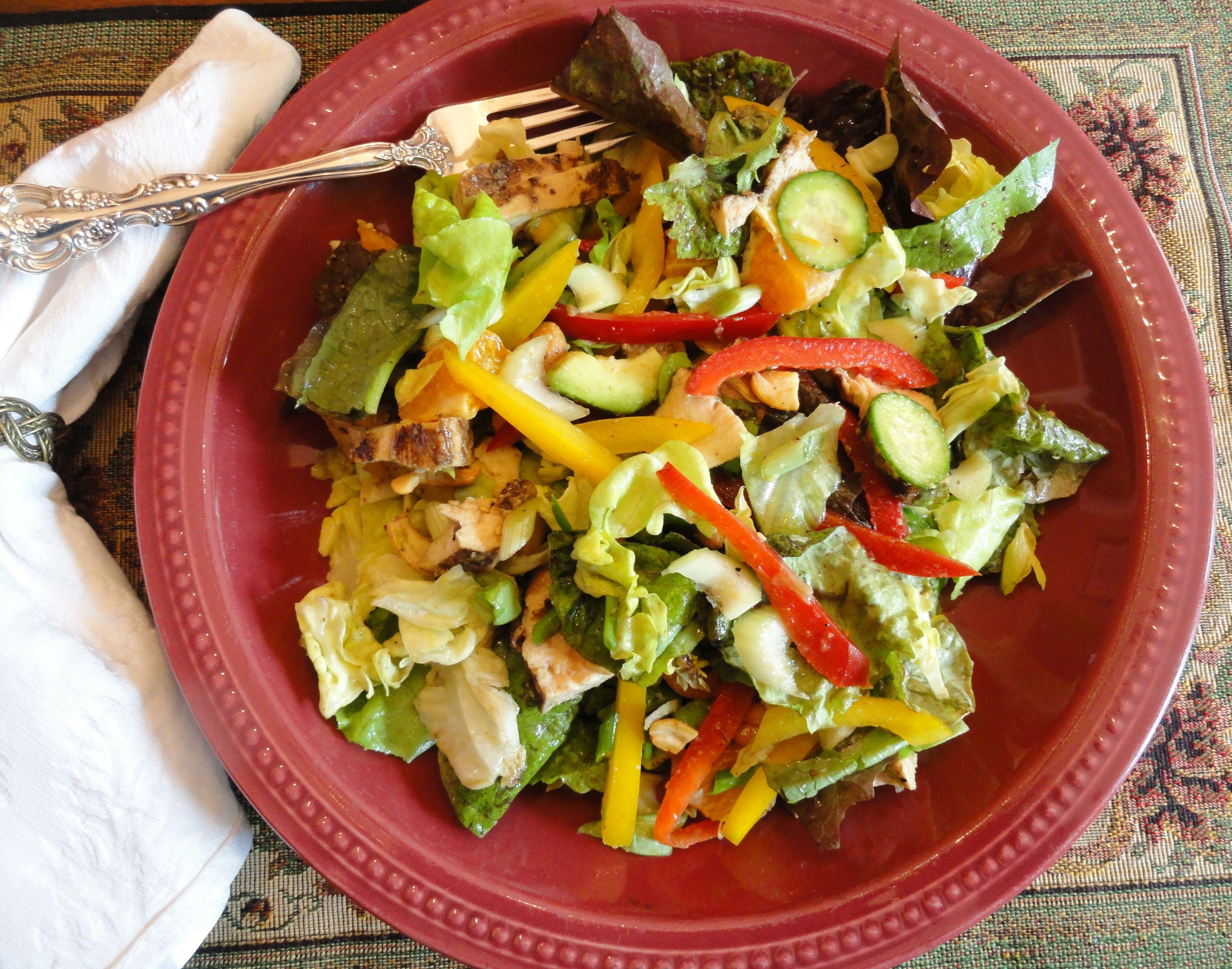 low fat low calorie garlic basil vinaigrette