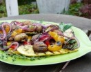 Grilled Summer Vegetables with Herb Dressing