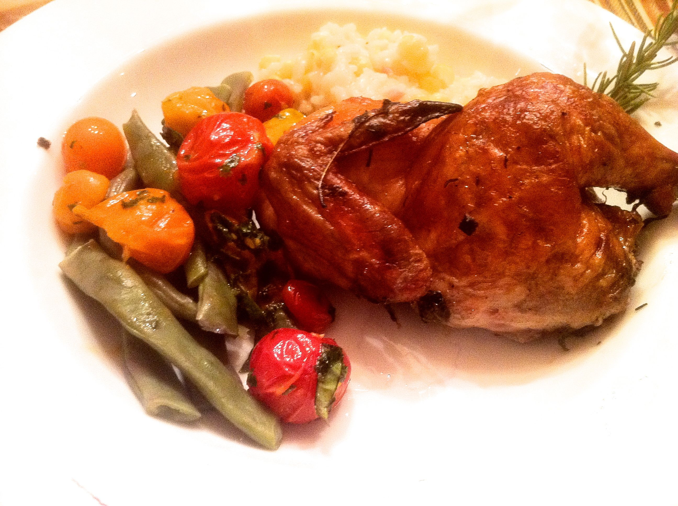 Rosemary Smoked Cornish Game Hens - LindySez | Recipes, Tips, Blog