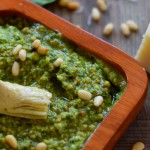 spinach and artichoke pesto