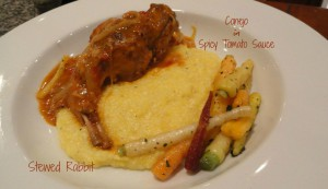 Stewed Rabbit or Conejo in Spicy Tomato Sauce