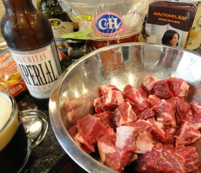 beer braised beef