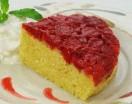 sweet cherry upside down cake