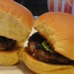 caramelized onion bacon burger