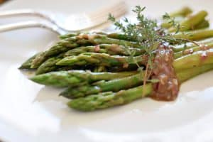 header photo Asparagus Salad with Balsamic Dressing