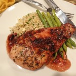 Blackberry Balsamic Chicken Breast