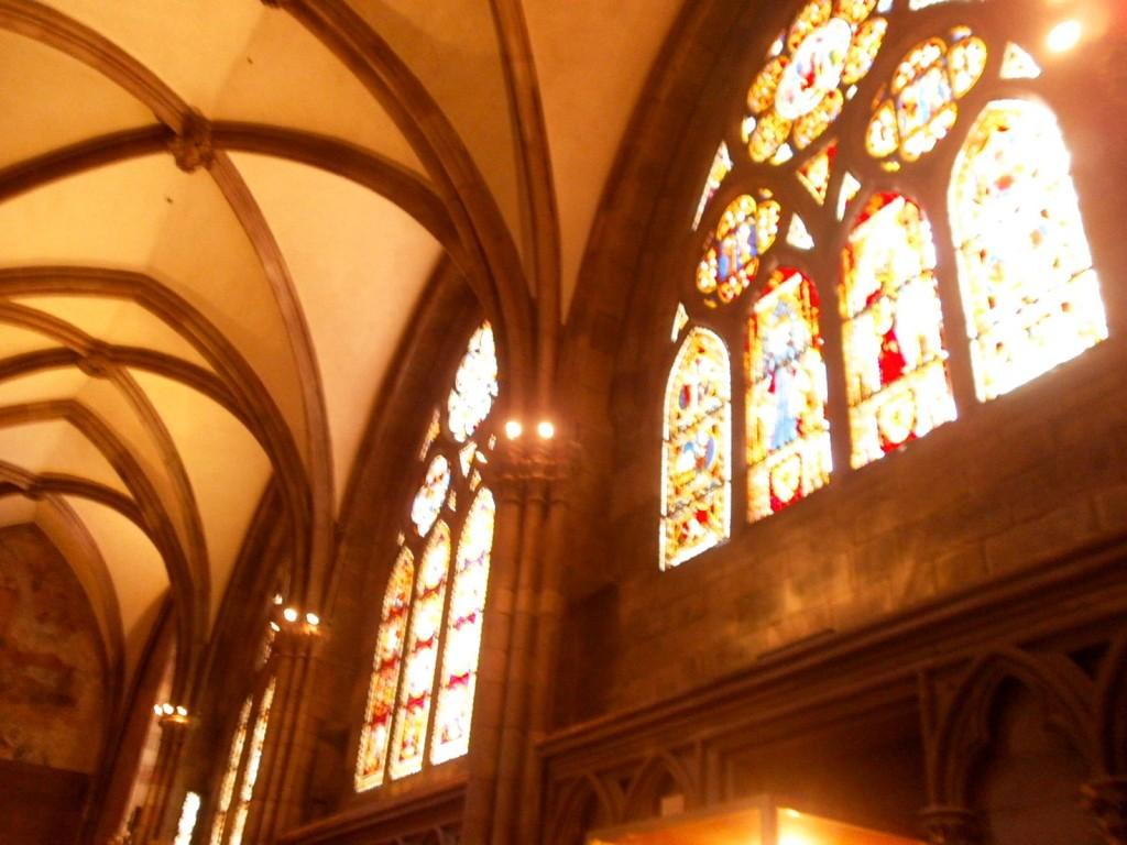 Interior of Church in Freiburg