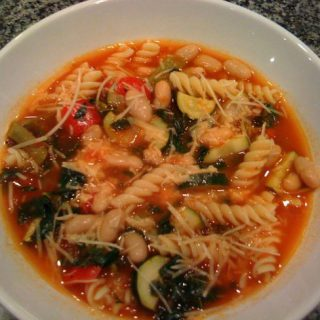 high five veggie soup
