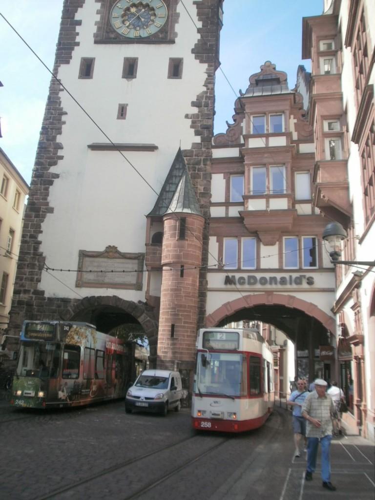 McDonalds in Freiburg Germany