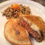 Patty Melts with an Italian Twist