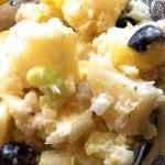 Lindy's Family Potato Salad up close