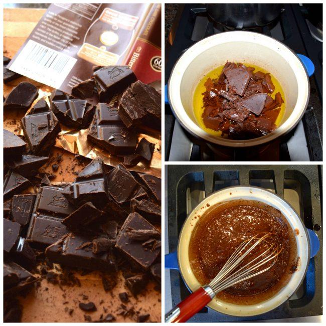 fudgy chocolate brownie