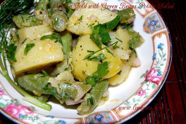 Yukon Gold and Green Beans Potato Salad