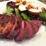 tea smoked duck breasts