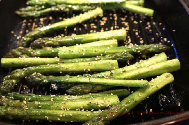 Grilled Sesame Asparagus