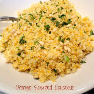 orange scented couscous