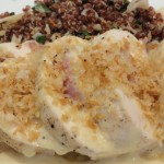 Easy Chicken Cordon Bleu with Dijon Mustard Sauce
