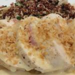 Easy Chicken Cordon Bleu with Dijon Mustard Sauce