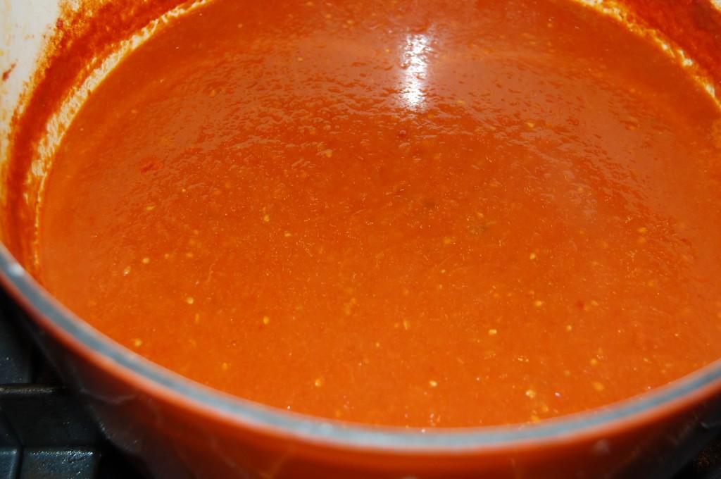 rich tomato sauce