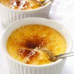 sweet corn creme brûlée