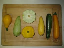 different types of summer squash
