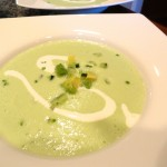 simple chilled cucumber soup