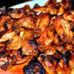 glazed chicken wings